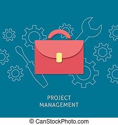 Project management design concept