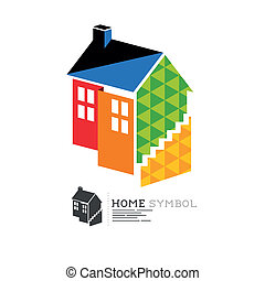 Vector Property House Symbol