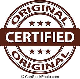 vector pure Original stamp