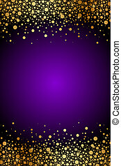 purple and gold luxury background - Vector purple and gold...