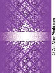 Vector purple vintage background