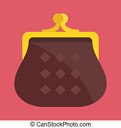 Vector Purse Icon