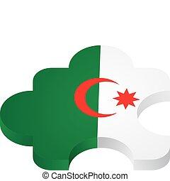 vector puzzle Algeria