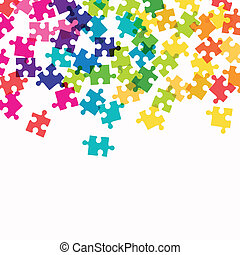 Vector Puzzle Background