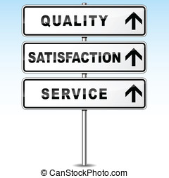 Vector quality signpost