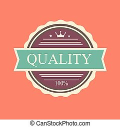 Vector quality stamp