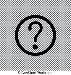vector question mark icon