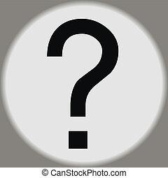 Vector question mark