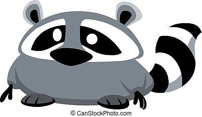 raccoon design - Vector raccoon design