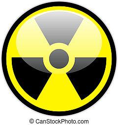 Vector radiation symbol