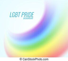 Vector rainbow on a transparent background.
