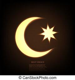 Vector ramadan background. Eps10