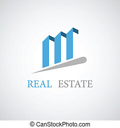 vector real estate architecture icon