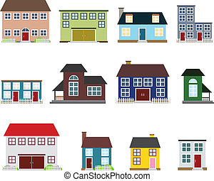 Vector real estate icons