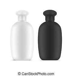 Vector realistic 3d design for hygiene container