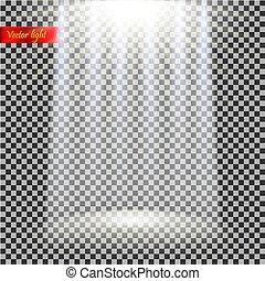 vector realistic light
