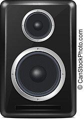 Vector Realistic Speaker