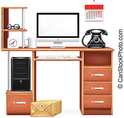 Vector Realistic Workplace