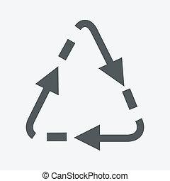 vector recycle symbol
