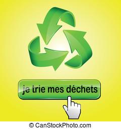 Vector recycling illustration