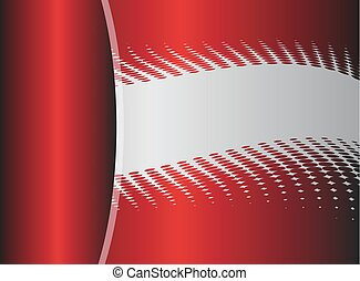 Vector red abstract, background