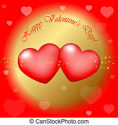 """Happy Valentines Day"" background"
