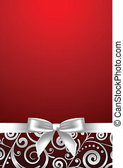 red and white luxury frame - Vector red and white luxury...