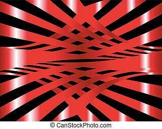 Vector red arc abstract background