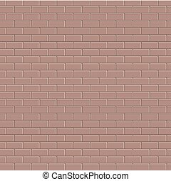 vector red brick background texture. Eps 10
