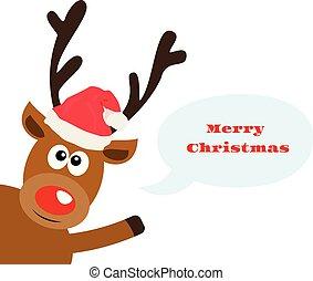 red nose reindeer
