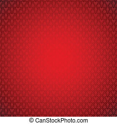 poker - vector red poker background. Transparency used