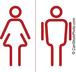 vector Restroom icon