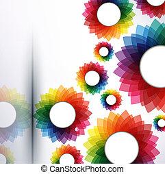 vector, resumen, creativo, ilustración