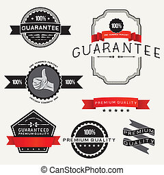 Vector Retro Label Designs