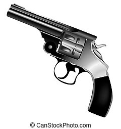 vector, revólver