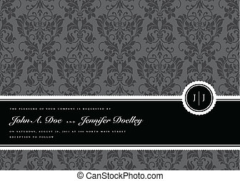 Vector Ribbon Frame and Background. Easy to edit. Perfect ...