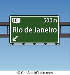 Rio De Janeiro Brazil Highway