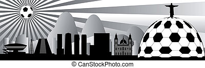 vector Rio skyline