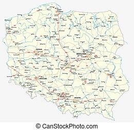 Vector road map of the republic of nauru vectors illustration