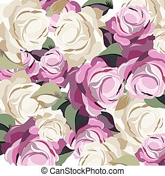 Roses Vintage background