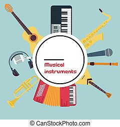 Vector Round Concept Musical Instruments