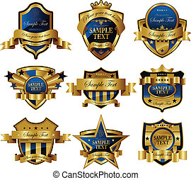 vector royal frame heraldic symbol