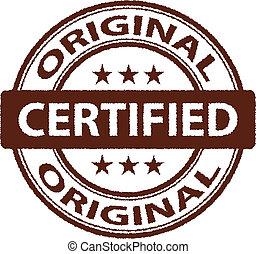 vector rugged Original stamp