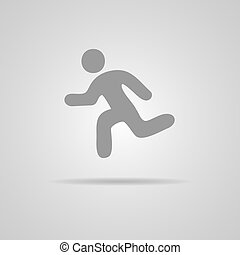 Vector Running Illustration