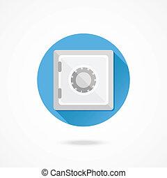 Vector Safe Icon