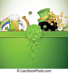 Vector Saint Patrick's Day Background