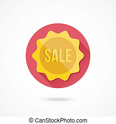 Vector Sale Badge Icon