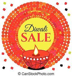 Vector sale Diwali