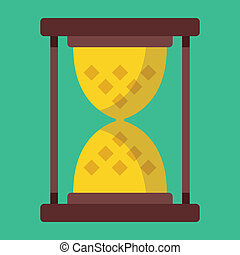 Vector Sand Hourglass Icon