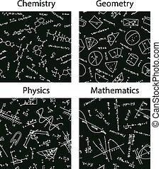 vector school patterns